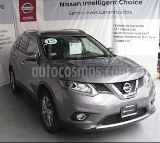 Foto venta Auto usado Nissan X-Trail Exclusive (2015) color Gris precio $250,000