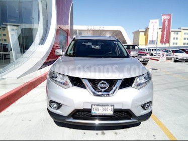 Nissan X-Trail Exclusive 2 Row usado (2016) color Plata precio $265,000