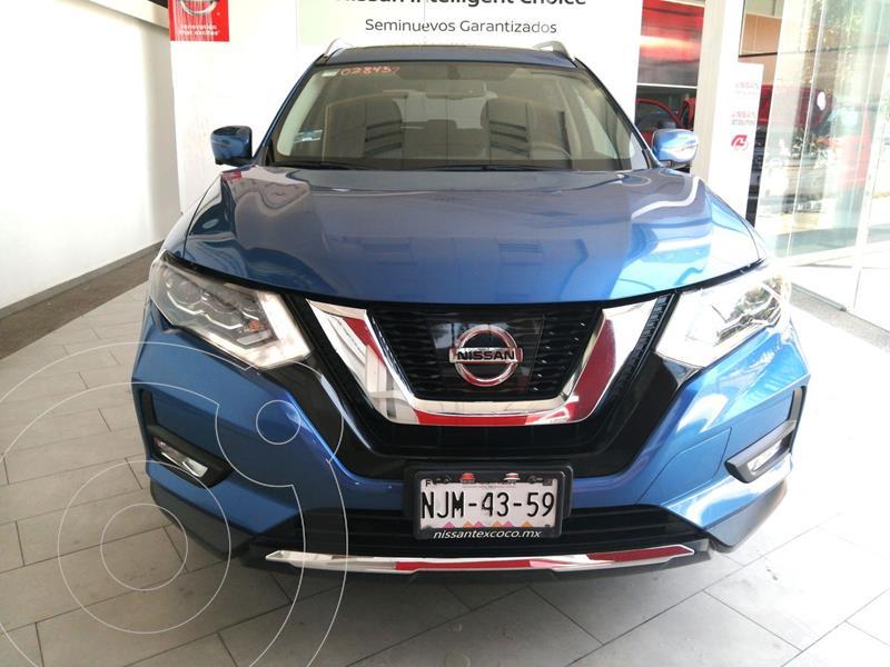 Foto Nissan X-Trail Exclusive 2 Row Hybrid usado (2019) color Azul financiado en mensualidades(enganche $91,400 mensualidades desde $16,500)