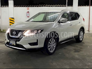 Nissan X-Trail 5p Advance 3 L4/2.5 Aut Banca abatible usado (2019) color Blanco precio $334,900