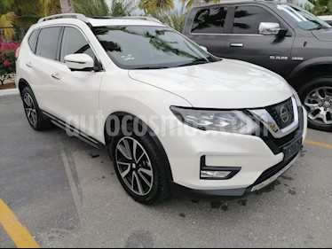 Nissan X-Trail Exclusive 3 Row usado (2018) color Blanco precio $430,000
