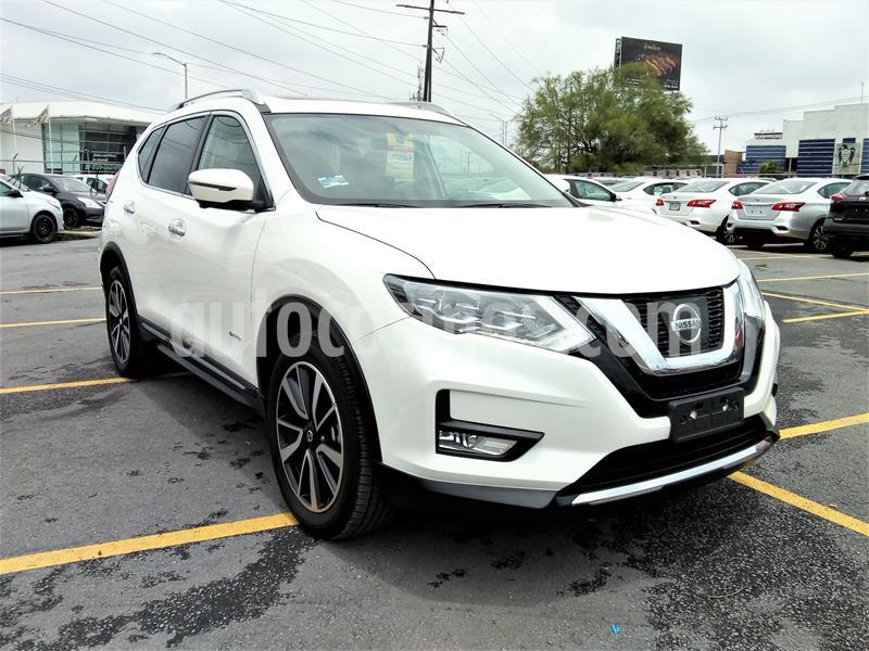 Nissan X-Trail SLX 2.5L Lujo Aut  usado (2019) color Blanco precio $536,500