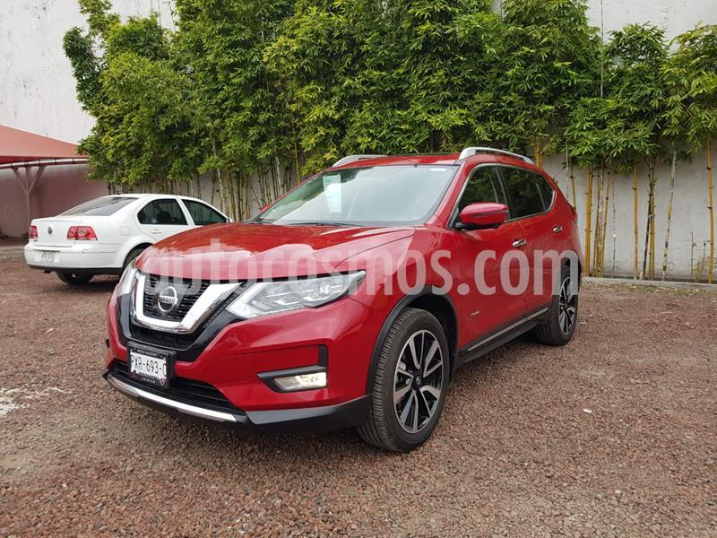 Nissan X-Trail Exclusive 2 Row Hybrid usado (2020) color Rojo precio $535,000