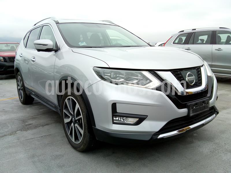 Nissan X-Trail Exclusive 3 Row usado (2019) color Plata precio $445,000