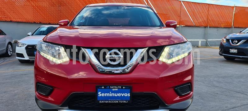Nissan X-Trail Sense 3 Row usado (2017) color Rojo precio $265,000