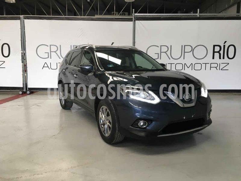 Nissan X-Trail Exclusive 2 Row usado (2016) color Azul precio $265,000