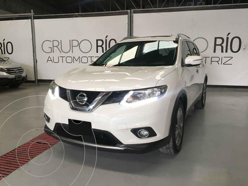 Nissan X-Trail Advance 2 Row usado (2016) color Blanco precio $249,800