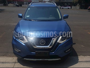 Nissan X-Trail Exclusive 2 Row usado (2018) color Azul precio $369,000