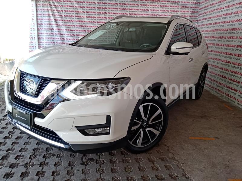Nissan X-Trail Exclusive 2 Row usado (2020) color Blanco precio $450,000