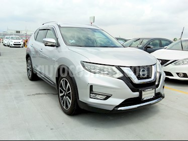 Nissan X-Trail Exclusive 2 Row usado (2019) color Plata precio $454,000