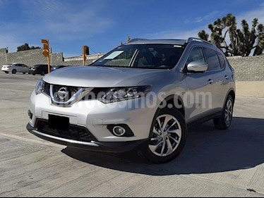 Nissan X-Trail Exclusive 2 Row usado (2016) color Plata precio $293,000