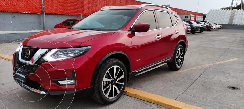 Foto Nissan X-Trail Exclusive 2 Row Hybrid usado (2019) color Rojo precio $499,000