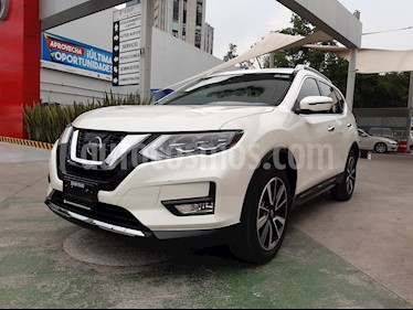Nissan X-Trail Exclusive 3 Row usado (2018) color Blanco Perla precio $374,000