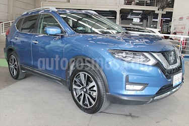 Nissan X-Trail Exclusive 3 Row usado (2019) color Azul precio $97,800