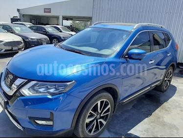 foto Nissan X-Trail 5P EXCLUSIVE CVT PIEL CD QC GPS 7 PAS. RA-18 4X4 usado (2019) color Azul precio $470,000
