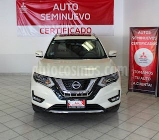 Nissan X-Trail Exclusive 3 Row usado (2018) color Blanco Perla precio $370,000