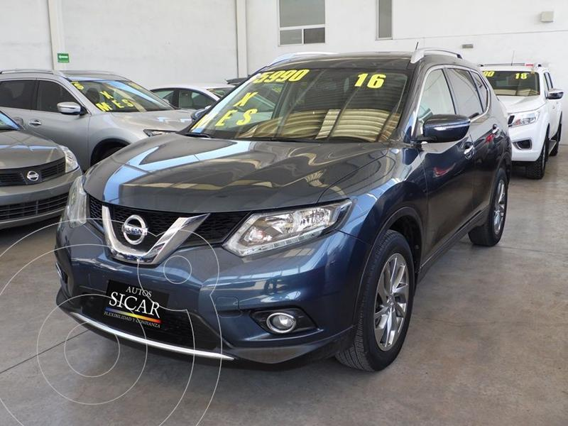 Foto Nissan X-Trail Advance 2 Row usado (2016) color Azul precio $249,000