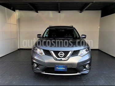 Nissan X-Trail Exclusive 3 Row usado (2015) color Gris Metalico precio $278,000