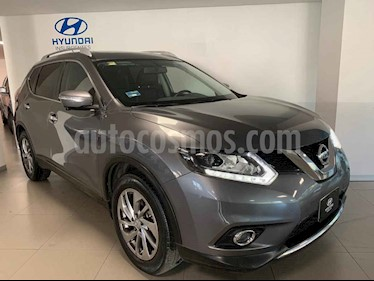 Nissan X-Trail Exclusive 3 Row usado (2016) color Gris precio $285,000