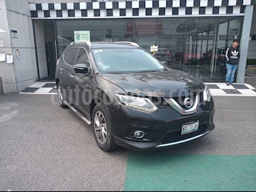 Nissan X-Trail Exclusive 2 Row usado (2016) color Negro precio $260,000
