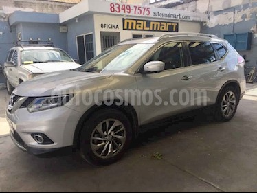 Nissan X-Trail Exclusive 3 Row usado (2017) color Plata precio $330,000