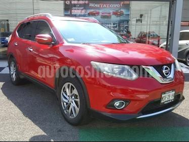 Foto Nissan X-Trail 5p Advance 3 L4/2.5 Aut Banca abatible usado (2015) color Rojo precio $248,000