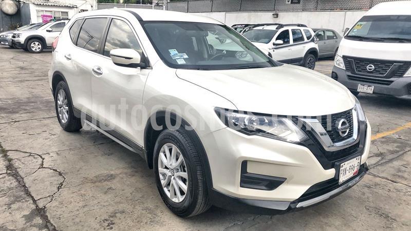 Nissan X-Trail Sense usado (2019) color Blanco precio $330,000