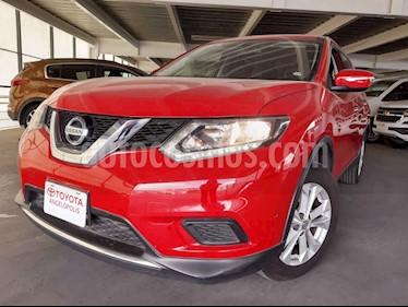 Nissan X-Trail 5p Sense 3 L4/2.5 Aut Banca abatible usado (2015) color Rojo precio $235,000