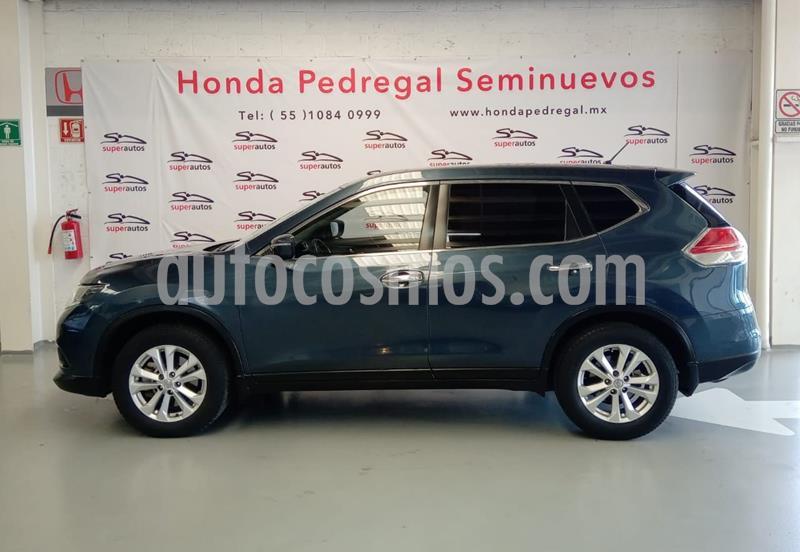 Nissan X-Trail Sense 3 Row usado (2015) color Azul precio $234,000