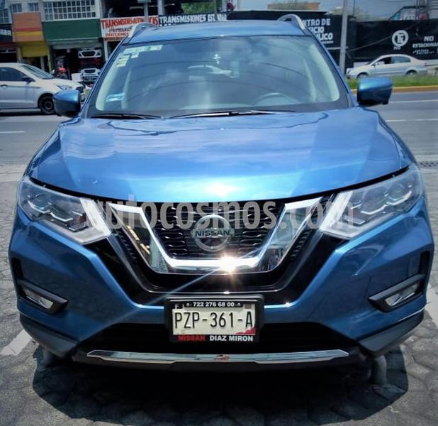 Nissan X-Trail Exclusive 2 Row usado (2018) color Azul precio $365,999