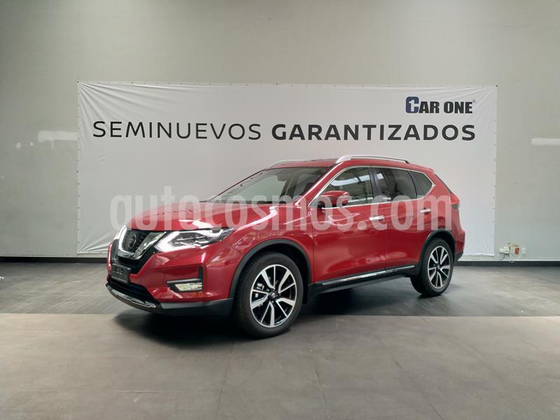 Nissan X-Trail Exclusive usado (2019) color Rojo precio $489,000