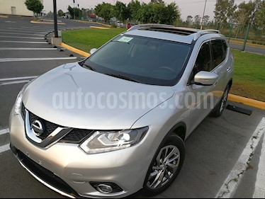 Nissan X-Trail Advance 3 Row usado (2015) color Plata precio $183,000