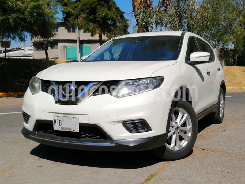 Nissan X-Trail Sense 3 Row usado (2015) color Blanco precio $220,000
