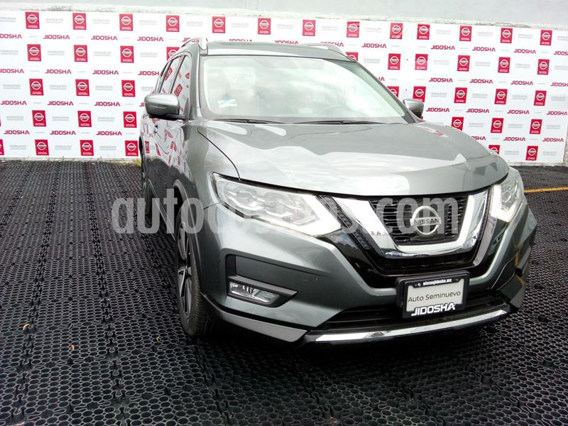 Nissan X-Trail Exclusive 2 Row usado (2018) color Gris precio $370,000