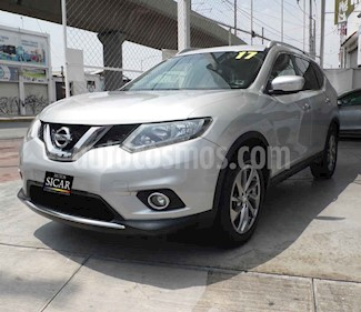 Nissan X-Trail Advance 3 Row usado (2017) color Plata precio $269,000