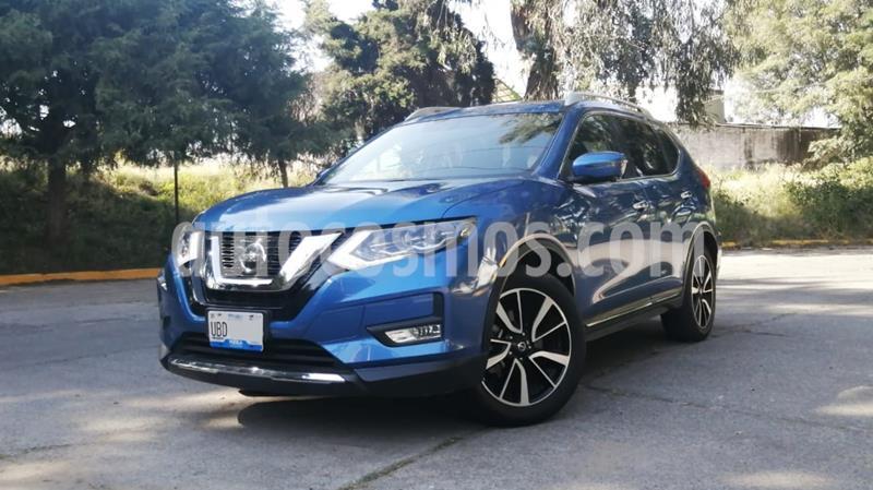 Nissan X-Trail Exclusive 3 Row usado (2019) color Azul precio $455,000