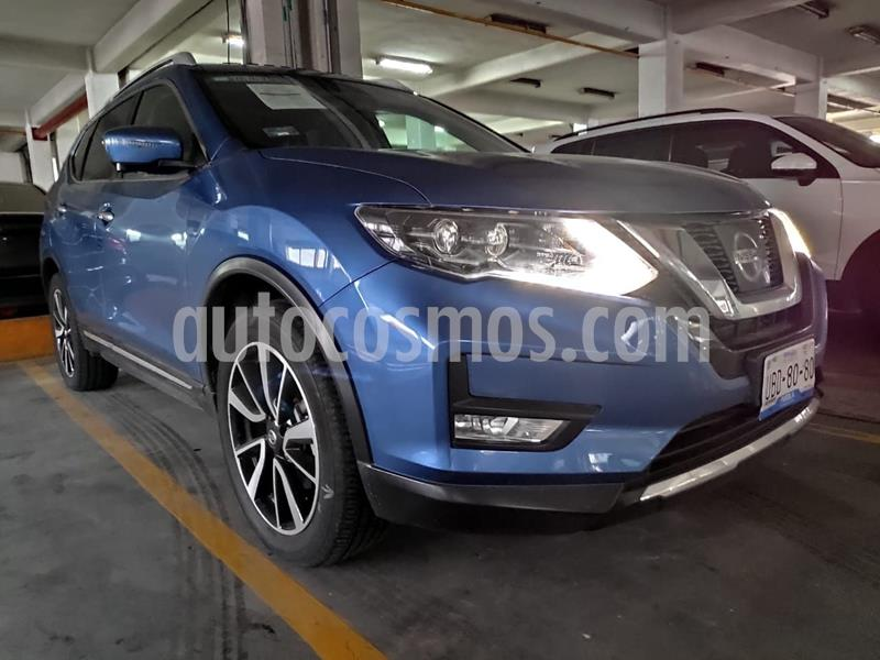 Nissan X-Trail Exclusive 3 Row usado (2019) color Azul precio $450,000