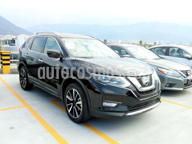 Nissan X-Trail Exclusive 3 Row usado (2018) color Negro precio $424,000
