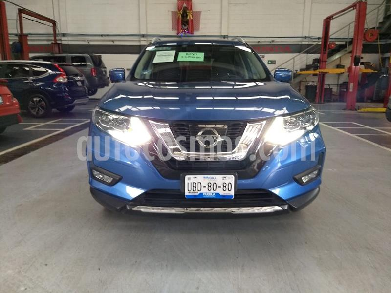 Nissan X-Trail Exclusive 3 Row usado (2019) color Azul precio $430,000