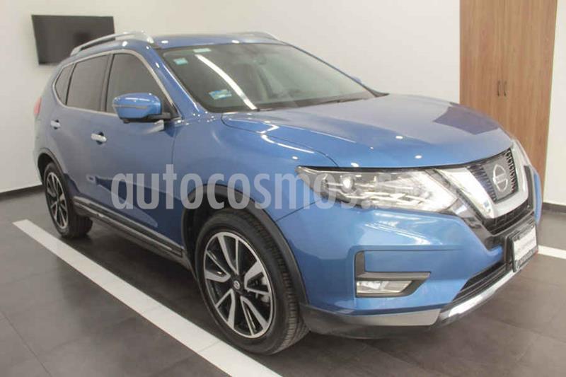 Nissan X-Trail Exclusive 3 Row usado (2019) color Azul precio $399,000
