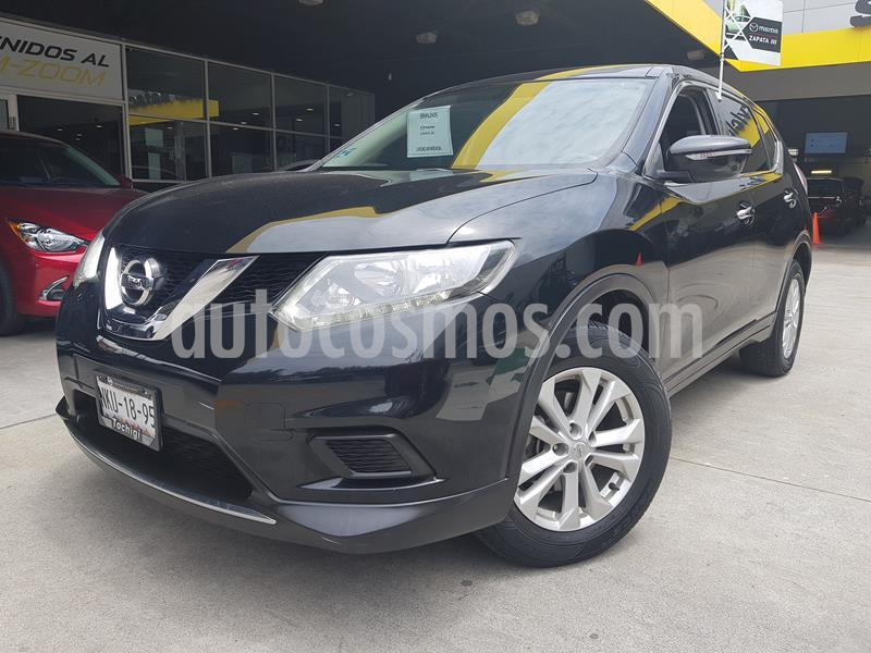 Nissan X-Trail Sense usado (2016) color Negro precio $235,000