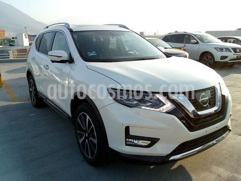 Nissan X-Trail Exclusive 2 Row usado (2019) color Blanco precio $454,000