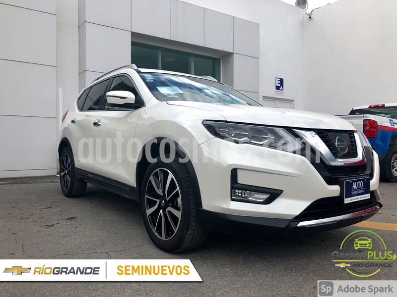 Nissan X-Trail Exclusive 2 Row usado (2018) color Blanco precio $360,000