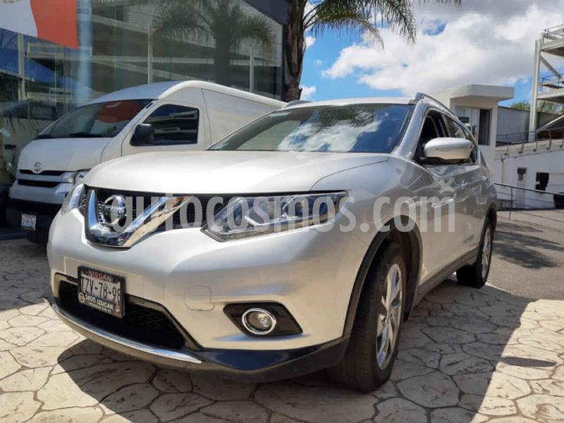 Nissan X-Trail Exclusive 2 Row usado (2017) color Plata precio $318,000