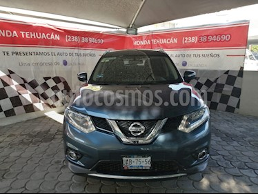 Nissan X-Trail Advance 3 Row usado (2016) color Azul Metalico precio $235,000