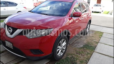 Nissan X-Trail Sense 2 Row usado (2016) color Rojo precio $200,000