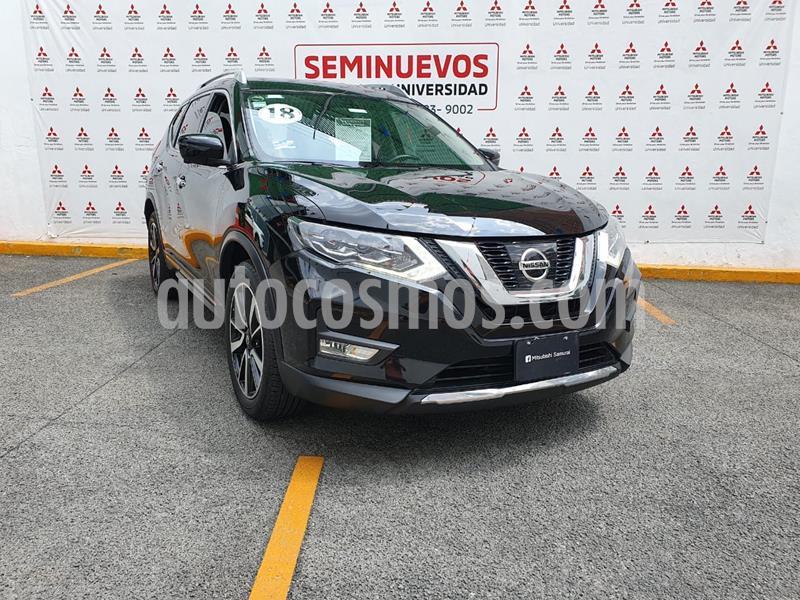 Nissan X-Trail Exclusive 2 Row usado (2018) color Negro precio $360,000