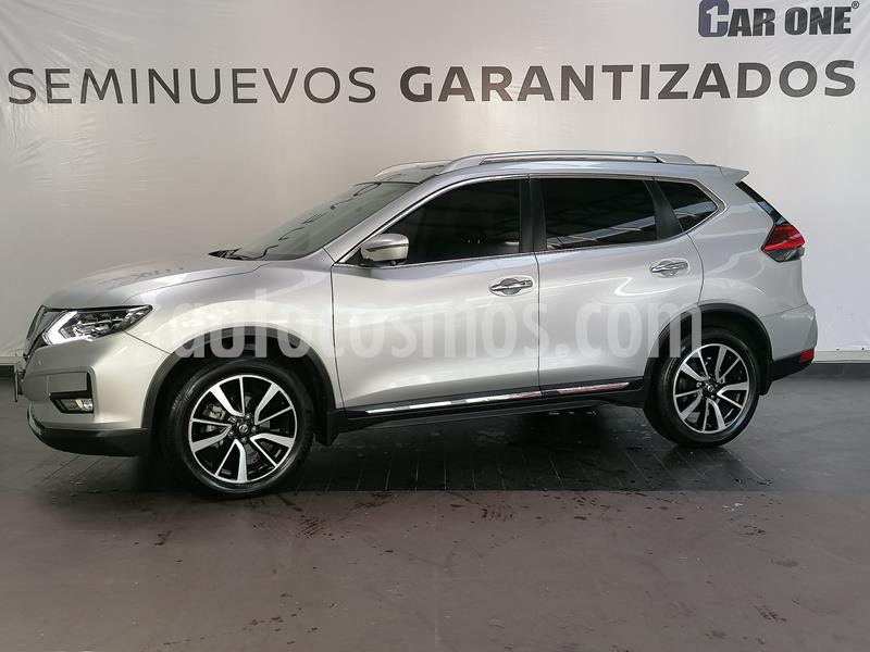 Nissan X-Trail Exclusive 2 Row usado (2019) color Plata precio $489,900