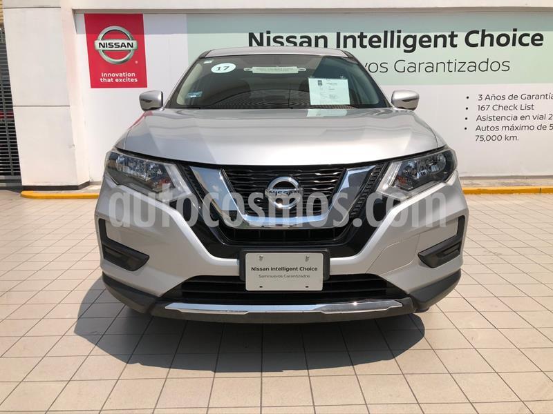 Nissan X-Trail Sense usado (2019) color Plata precio $310,000