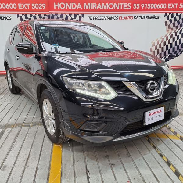Foto Nissan X-Trail Sense 2 Row usado (2015) color Negro financiado en mensualidades(enganche $61,250 mensualidades desde $7,000)